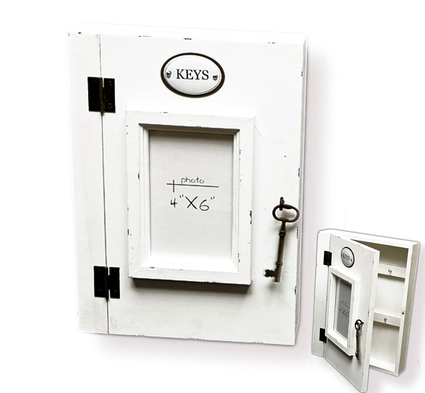 Shabby Und Mehr: Schlüsselkasten Schlüsselbox Weiß Shabby Ablage Aus Holz