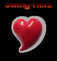 Herz Handschmeichler Swing , Speckstein