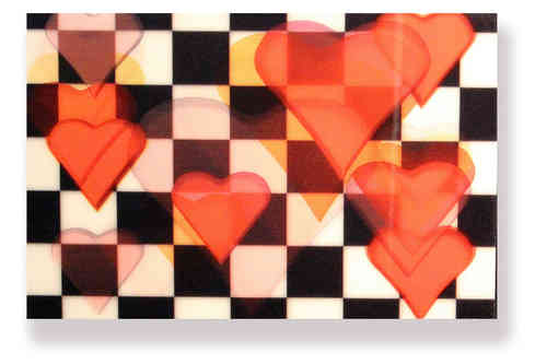 Wackelkarte -  Maus verschenkt ein Herz -