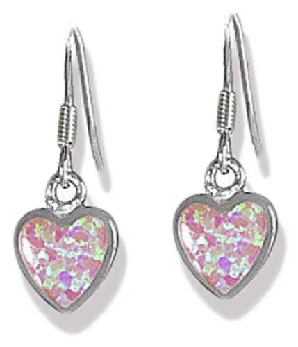 Herz Ohrhänger 925 Silber