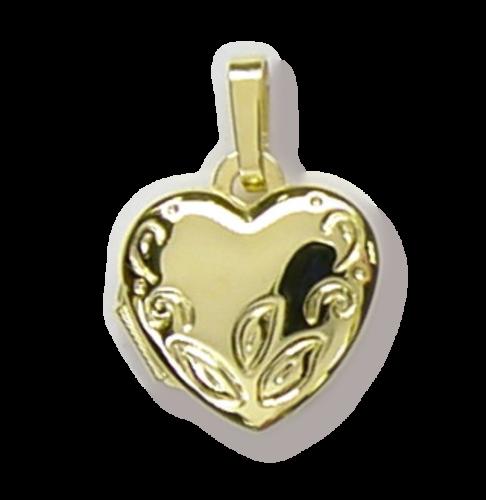 Medaillon Herz 333 Gold
