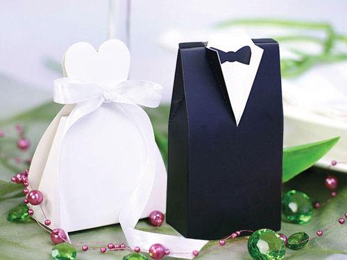 Geschenkbox Gastgeschenk Hochzeit Brautpaar 20 Stück