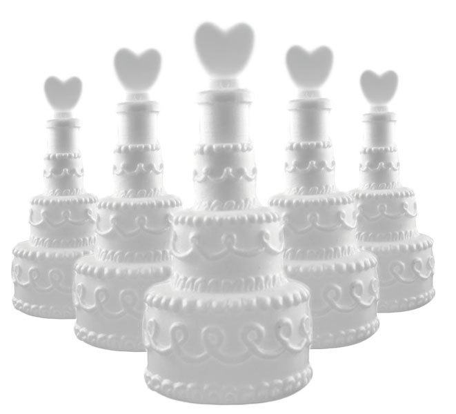 48x Seifenblasen Torte mit Herz Wedding Bubbles Hochzeit Gastgeschenk Liebe oder Valentinstag