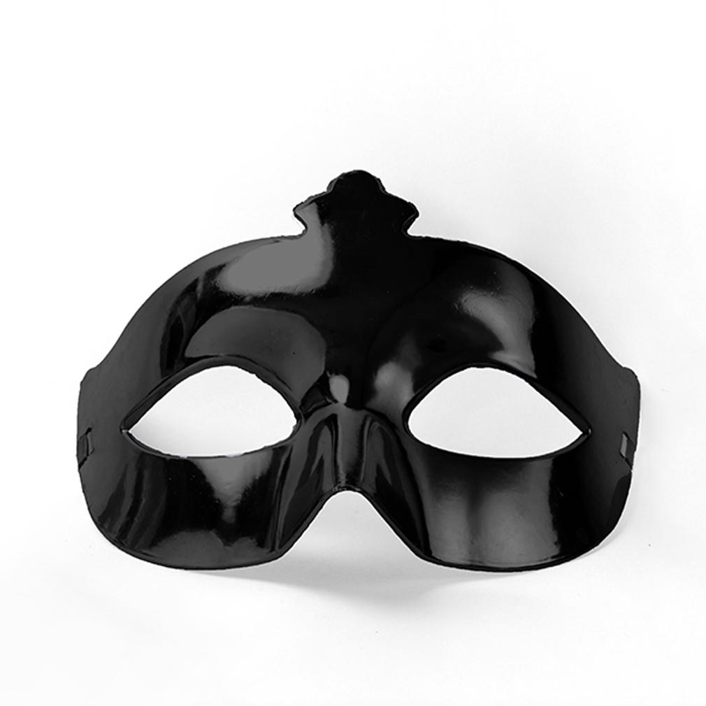 Party-Maske schwarz Fasching Maskenball Kaneval Gesichtsmaske Venedig Augenmaske