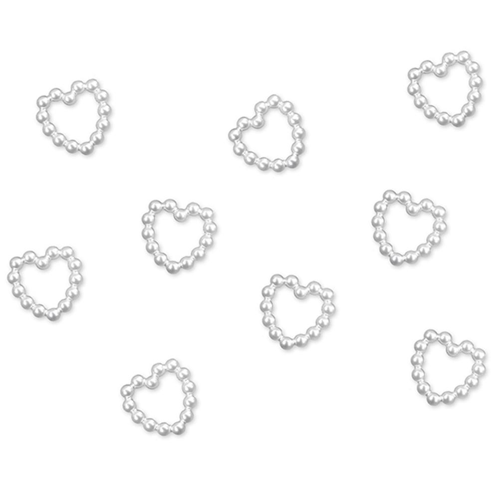 Streudeko Tischdeko Herz Hochzeit Valentinstag Acryl-Perlen-Herzen