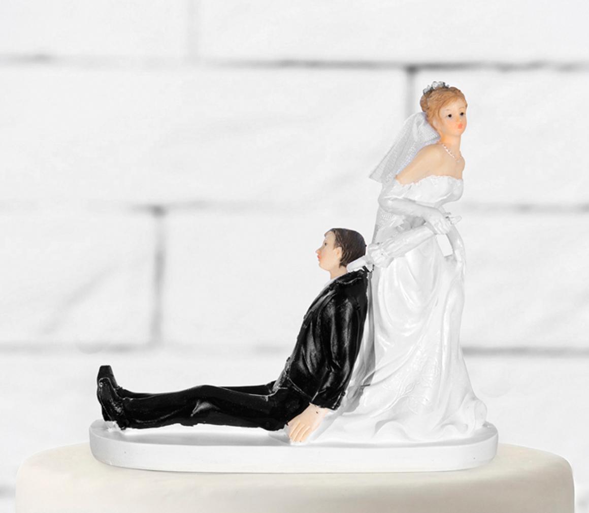 Tortenfigur Brautpaar Hochzeit Tortenaufsatz Tortendeko Hochzeitstorte