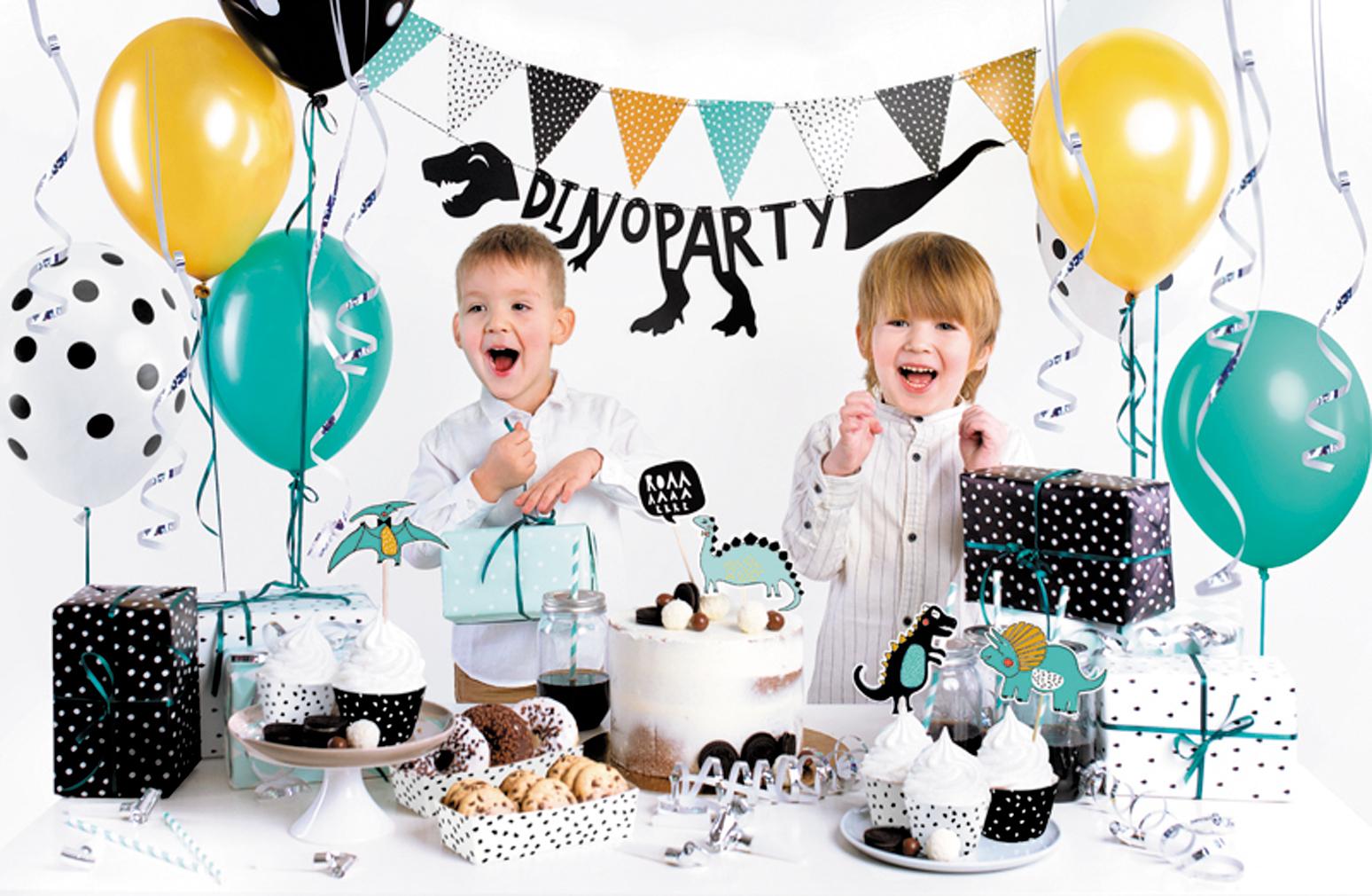 Geburtstag Set Dino Party Kindergeburtstag Geburtstagsparty