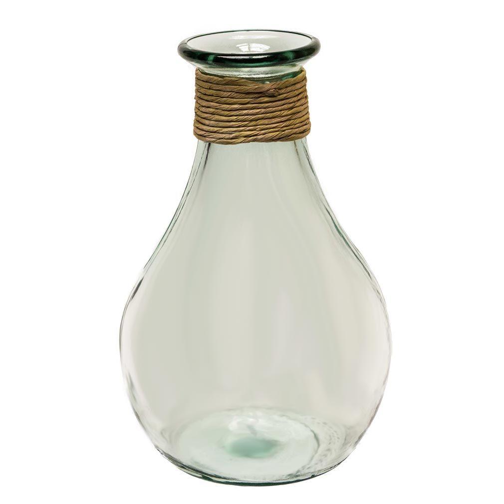 Spanisches Glas - Dekoglas Glas Behälter Antik-Stil 100% Recyceltes Glas
